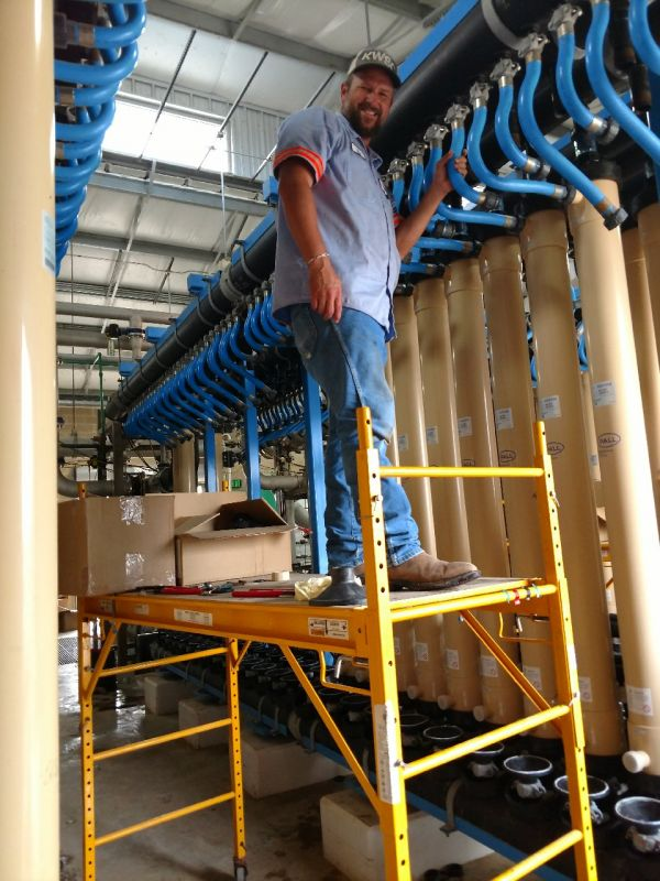 Membrane Filter Replacement 1