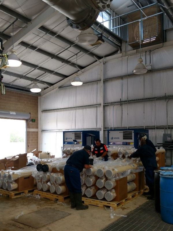 Membrane Filter Replacement 3